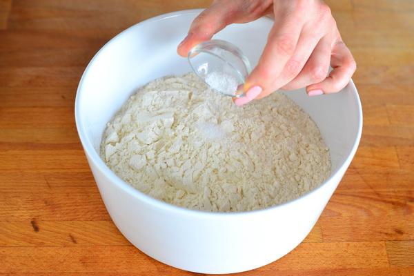 2 sega sool ja jahu kokku