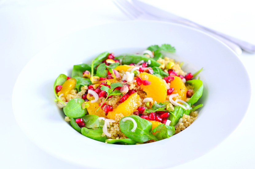 kinoa inchi salat