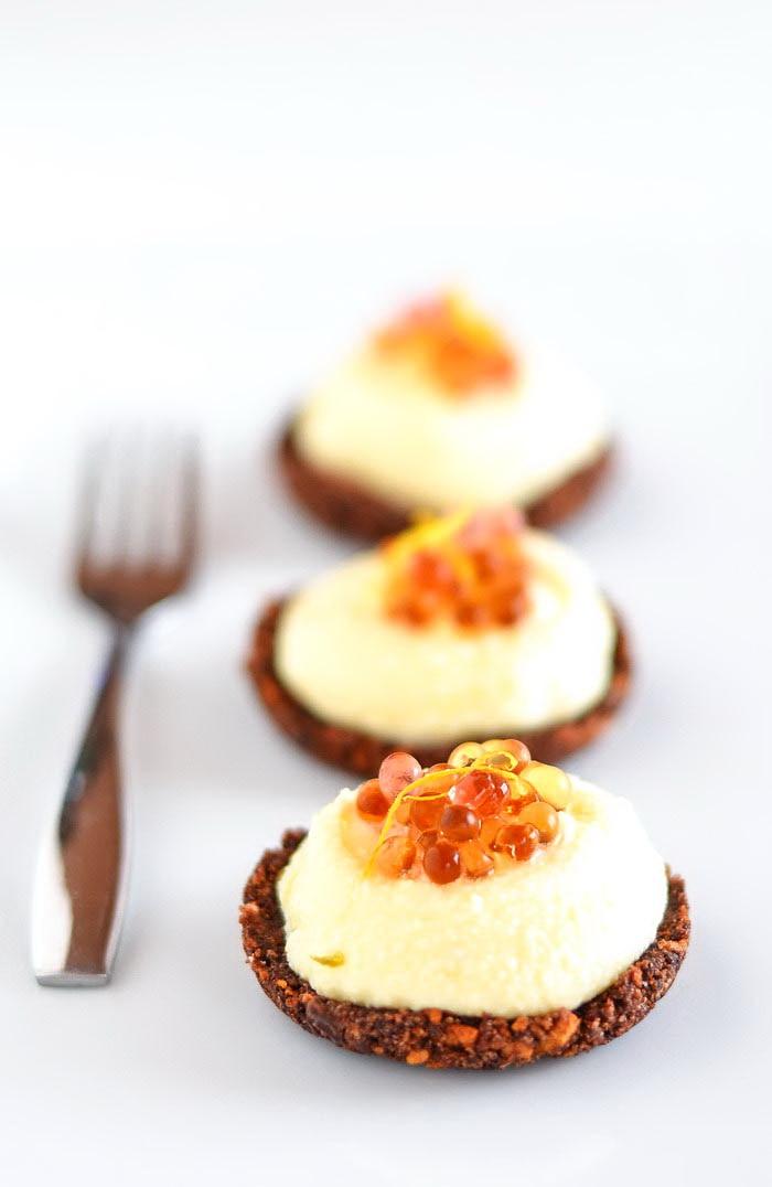 mini piparkoogi toorjuustu kook