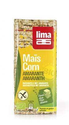 Õhukesed maisileivad amarandiga 130g BIO