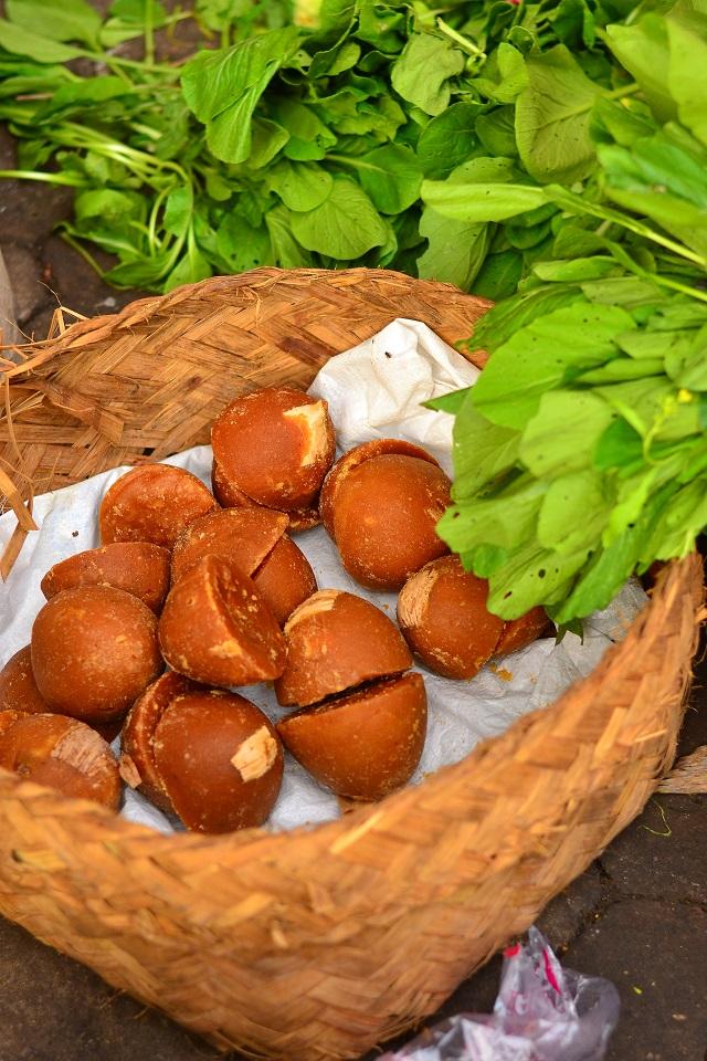 palmisuhkur, vormiks kookospähkli koor