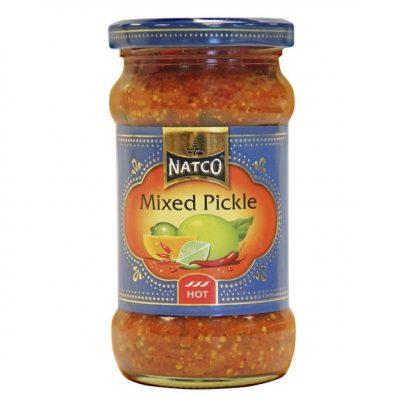 Marineeritud koogiviljad (mixed pickle)