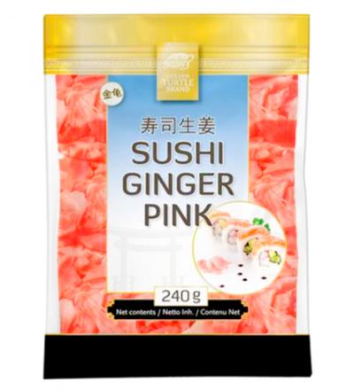 roosa marineeritud sushi ingver