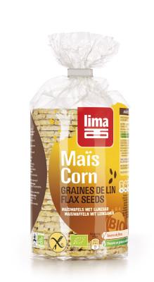 Õhukesed maisileivad linaseemnetega