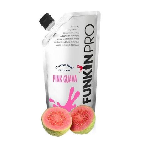 Naturaalne roosa guajaavi püree 1kg
