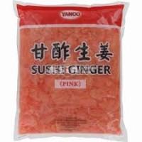 roosa sushi ingver