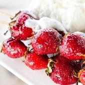 grillitud maasikad