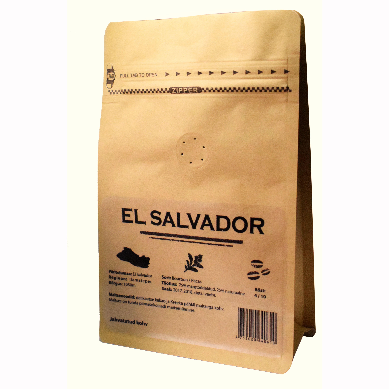 el salvador kohv
