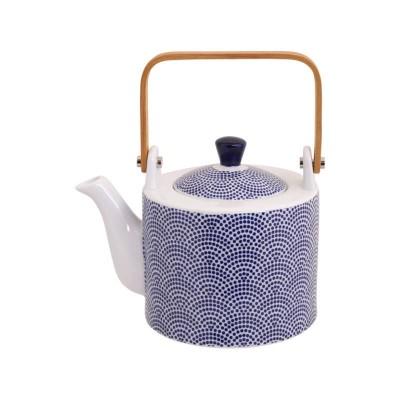Teekann portselanist nippon blue dot 0.8l