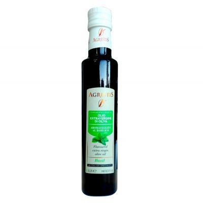 oliivioli-basiilikuga