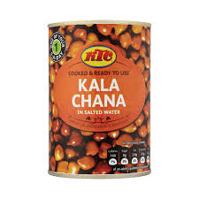 kala chana pruunid kikerherned