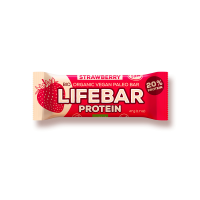 maasika toorbatoon proteiinibatoon