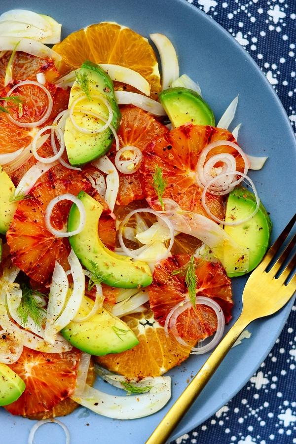 apelsini fenneli salat