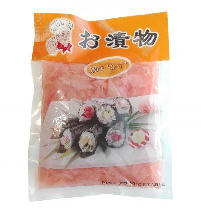 roosa marineeritud ingver sushi