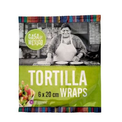 tortilla wrapid 20