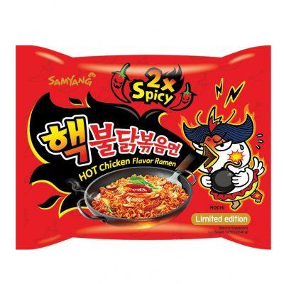 Korea ramen kiirnuudlid super tuline kana